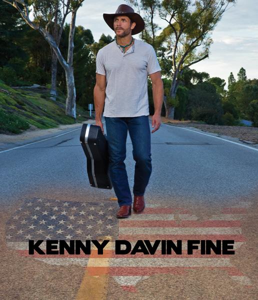 Kenny-Davin-Fine-USA-Flag
