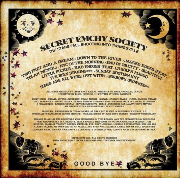 SecretEmchySociety-StarsFallShootingIntoTwangsvilleBackCover
