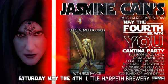 Jasmine Cain Little Harpeth Brewing Nashville May 4 2019