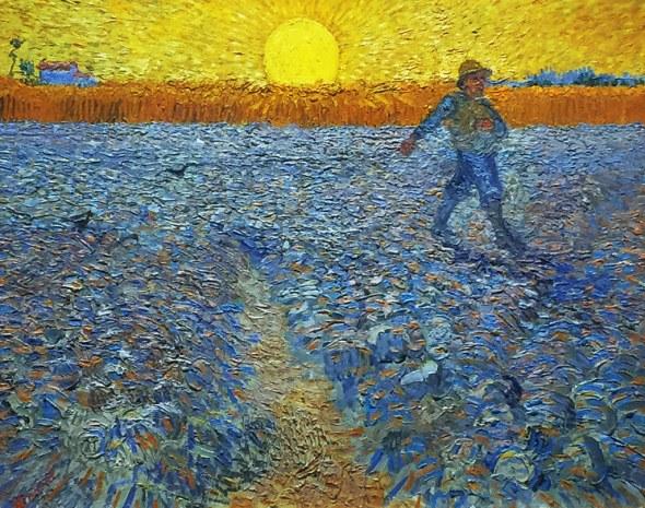 Vincent Van Gogh The Sower 1888